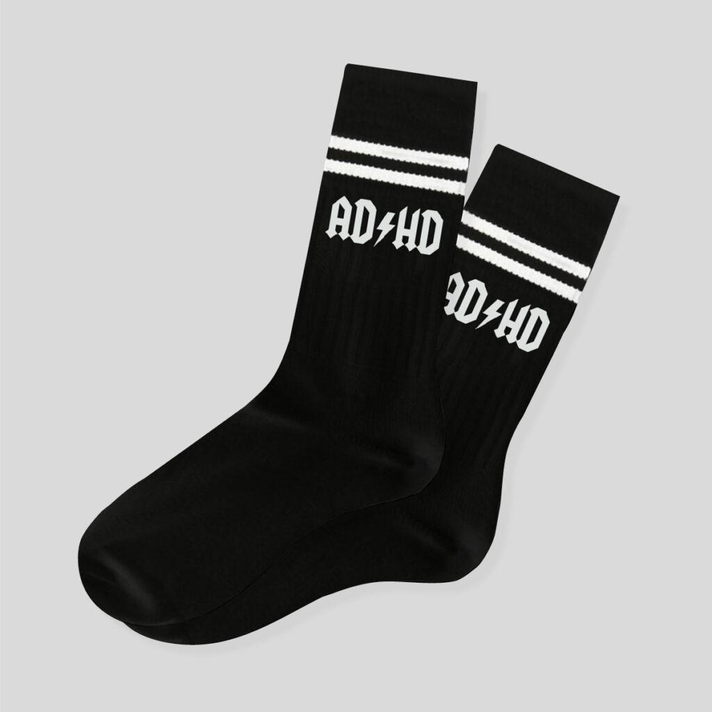 Ponožky ADHD černé